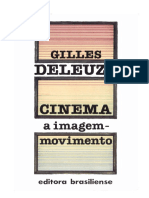 DELEUZE, Gilles. Cinema - A Imagem-movimento