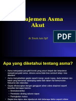 Manajemen Asma Akut Dr. Erneti