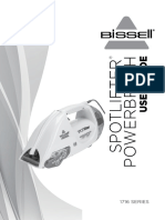 Bissell Spotlifter Powerbrush User Guide
