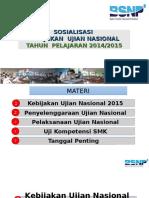 Sosialisasi Ujian Nasional Tahun 2015,3 Maret 2015 Edit