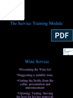 The Wine Service Training Module