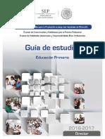 GUIA DE ESTUDIO Director Primaria