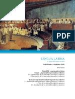 Unidad III. Los pronombres latinos