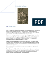 Biografía de Fray Bartolomé de Las Casas