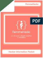 FemmeHacks Infopack -- Print 100