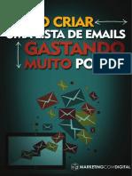 Como criar uma lista de email
