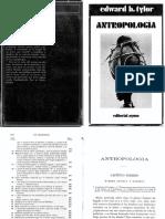 Tylor, Antropología