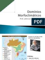 Dominios morfoclimaticos- 2014