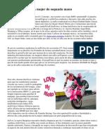 botas de moto para mujer de segunda mano