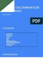 gender discrimination hss201