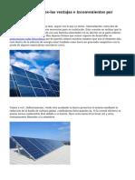 Casa paneles solares-las ventajas e inconvenientes por Janick Janish