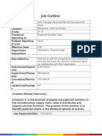 JD- Asst Manager- Business Partner Development