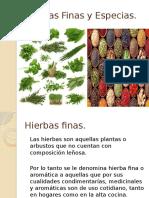 Hierbas Finas y Especias