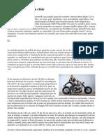 motos para mujeres chile