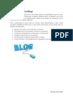 Importancia de los Blogs