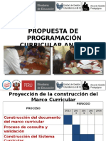 Programacion Curricular 4