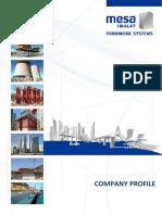 Mesa Company Profile 2013
