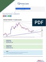 Forex Daily Forecast - 26 Feb 2016 BlueMax Capital