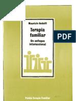 Andolfi Maurizio - Terapia Familiar