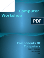 Components of Computers-Rajeev Ranjan