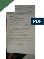 Examen Supletorio de La Facultad de Ciencias, Epn