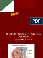 Breech Presentation Dr Moly Sam K on 17-04-2010 Final