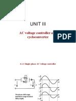 Power Electronics Unit V Ppt