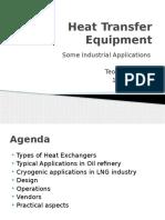 Industry heat transfer