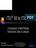ITIL V2 to V3 Comparison