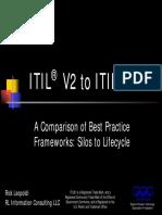 ITIL V2 to V3 Comparison