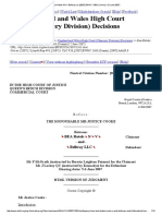 Bea Hotels NV v Bellway Llc [2007] EWHC 1363 (Comm) (12 June 2007)