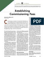 Commissioning Fee