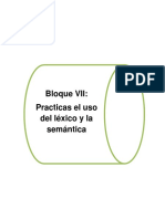 Bloque 7 (Practicas El Uso Del Léxico y La Semántica)