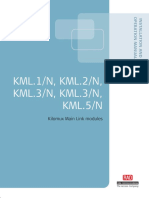 Manual Del Módulos KML 1-5N
