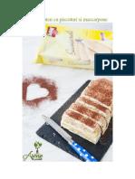 Desert Fara Gluten Cu Piscoturi Si Mascarpone by Alina Stan