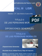 Clase Fiscal III Art. 9 Al 13.