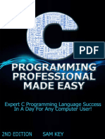 Sam Key-C Programming Professional Made Easy-Creat
