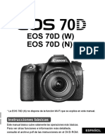 EOS 70D Basic Instruction Manual ES