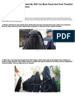 10 Terrifying Laws Dictated by ISIS You Must Read and Feel Thankful for You Aren't Under Them
