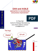 Approaches to Lean & Agile Mfg