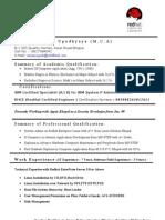 CV for AIX Linux System Admin
