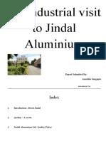 An Industrial Visit to Jindal Aluminium