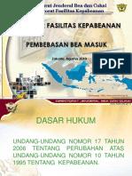 DITJEN BEACUKAI-Presentasi Proyek Pemerintah Bappenas Aug10