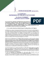 La Kabylie Repression Et Projet Dautonomie 464
