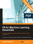 F# for Machine Learning Essentials - Sample Chapter