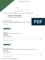 Agencias de MRW en Maturín - Indizze.com