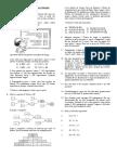 Lista de Exercícios I - Introdução aos números naturais e operações
