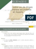 Presentación ESTUDES 2014/2015
