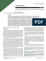 Biofield | Atomic Crystalline and Powder Characteristics of Treated Zirconia and Silica Powders