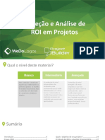 Projeção e Análise de ROI em Projetos